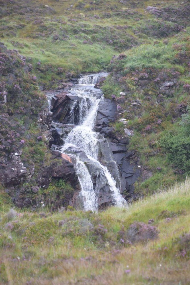 A small Sutherland waterfall