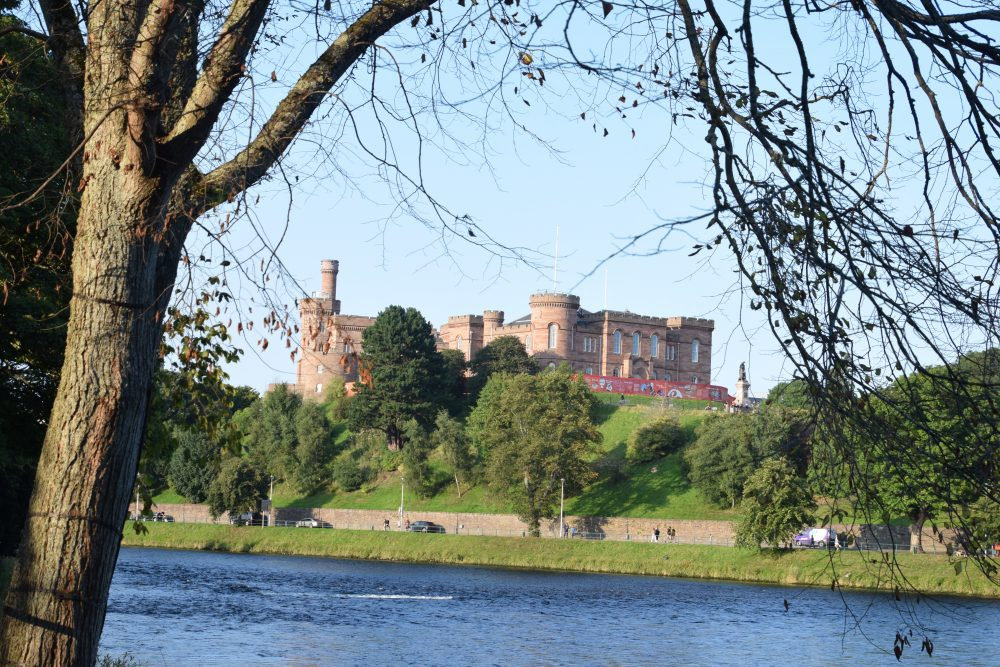 Inverness Castle, seen across the River Ness