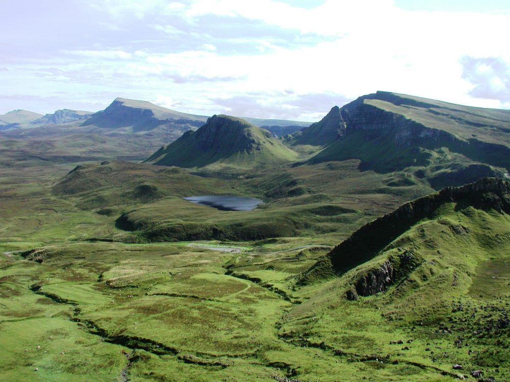 Velvety peaks in north west Scotland
