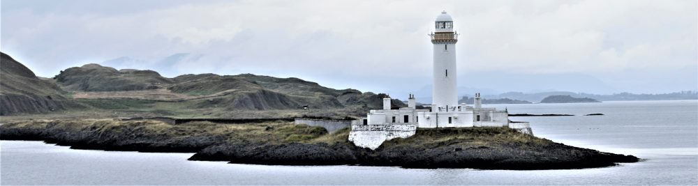 The Lismore Lighthouse between Oban and Mull