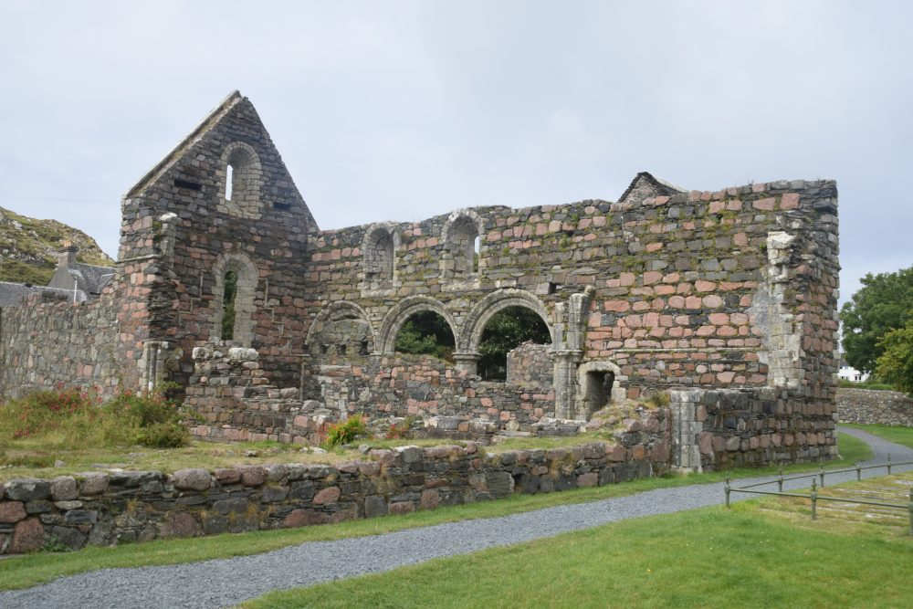 The ruined priory at Iona