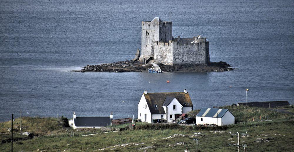 Kisimul Castle in the bay at Barra