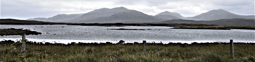 Sparkling Loch Druidibeg, South Uist, Western Isles