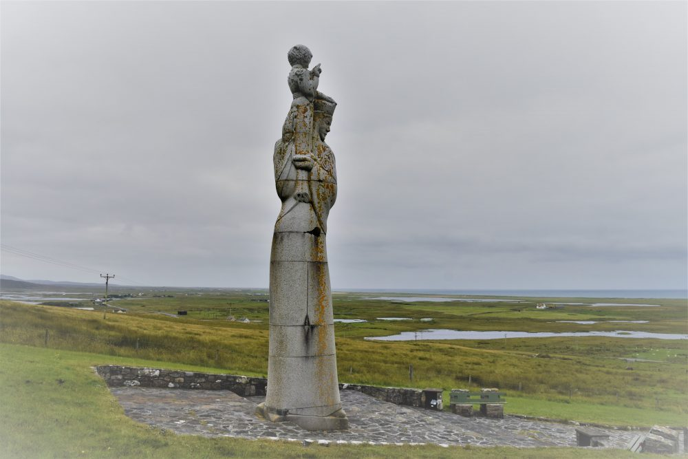 Our lady of the Isles statue South Uist