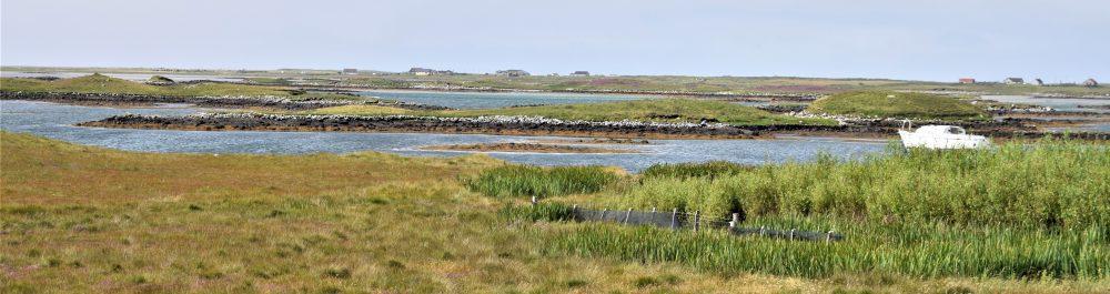 Sea lochs on North Uist, Western Isles