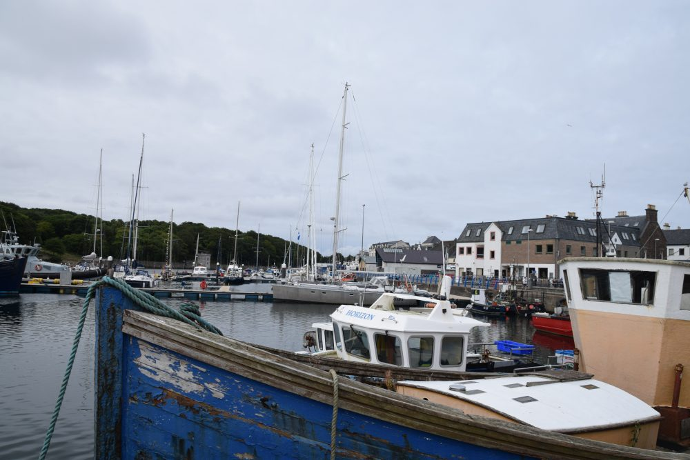 Fishing boats in Stornoway Harbour, Lewis, Western Isles